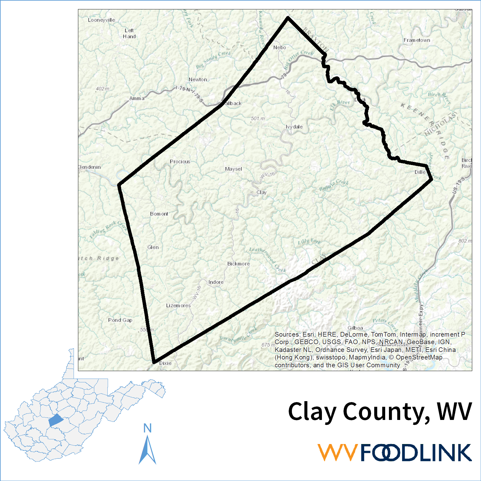 County profile page wv foodlink publicscrutiny Choice Image